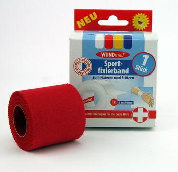 Бандаж спортивный 5 м х 5 см 04-025 WUNDmed (3762)
