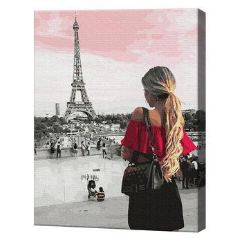 Знакомство с Парижем, 40х50 см, картина по номерам Артукул: GX36129