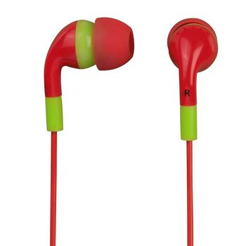 HAMA Flip Flopin-Ear Stereo Earphones, sunset/grass