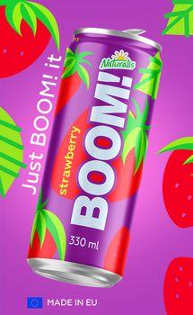 Naturalis BOOM! Strawberry