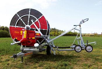 купить Передвижная дождевальная машина с барабаном для полива полей серии GT - Марани в Кишинёве