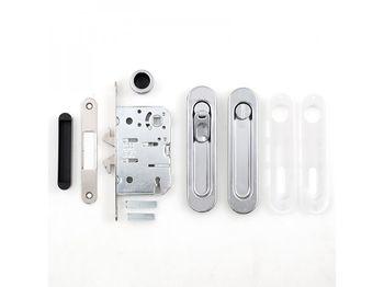 Комплект ручек для раздвижных дверей B029235006 полированный хром