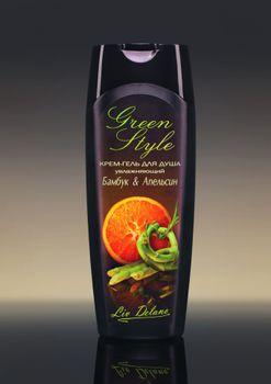 купить Крем-гель для душа увлажняющий «Бамбук&Апельсин» Green Style в Кишинёве