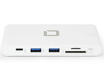 Dicota D31729 USB-C Portable Docking 9-in-1 with HDMI 4K, 2xUSB-C, 2xUSB-A, LAN RJ45, Card Reader