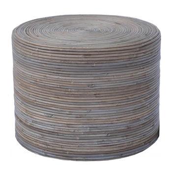 купить Стол из ротанга 480х480х360 мм, серый в Кишинёве