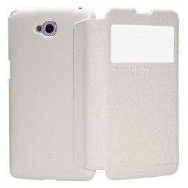 "Чехол для LG G Pro Lite D684/D686 ""Nillkin Sparkle Case"" Белый"