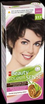 Vopsea p/u păr, SOLVEX MM Beauty Sense, 125 ml., S17 - Expresso