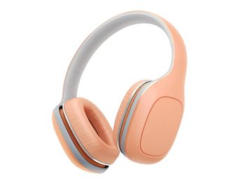 """Xiaomi """"Mi Headphones Comfort"""" Headphones, Orange, 3.5mm, Microphone, Rated Power 50mW, Speaker Impedance 32ohms, Frequency response: 20~40KHz, Hands free calling features, Cord type cable 1.4 m"""