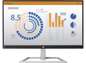 """HP N220 21.5"""" FullHD IPS 5ms, 5M:1, 250 cd/m, VGA, HDMI, Tilt: -5 to +22°, Black/Silver"""