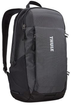 "14-15"" NB Backpack  THULE - EnRoute 18L, Black, Safe-zone, 840D nylon, 330D nylon mini ripstop, Dimensions: 27 x 23 x 44 cm, Weight 0.60 kg, Volume 18L"