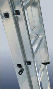 купить Лестница алюминиевая двухсекционная Elkop VHR TK 2x10 в Кишинёве