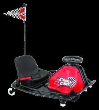 Электро карт Razor Ride-On Crazy Cart (MC1), Black