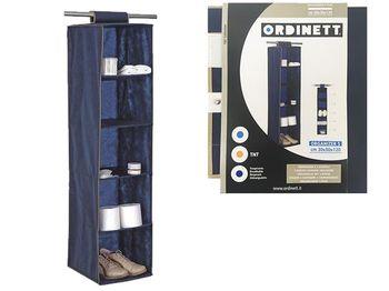 Органайзер для хранения подвесной Blue 5секций 30X30X120cm