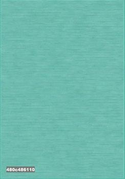 Ковёр F-SHE 480с486110 однотонный бирюзовый