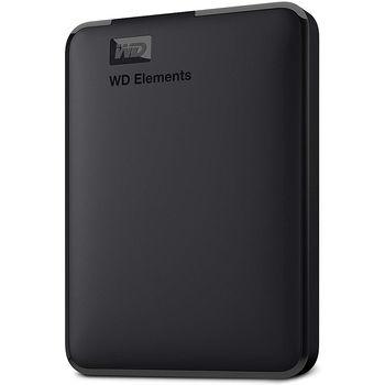 """2.5"""" 5TB External HDD WD Elements Portable WDBU6Y0050BBK-WESN, Black, USB 3.0, (hard disk extern HDD/внешний жесткий диск HDD)"""