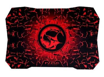"Marvo ""G2"", Gaming Mouse Pad, Dimensions: 520 x 350 x 3 mm, Material: rubber base + microfiber, Red"