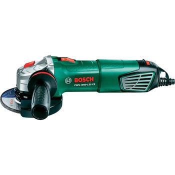 купить Угловая шлифовальная машина PWS 1000-125 CE 125 мм Bosch в Кишинёве