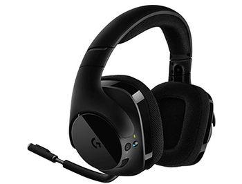 Logitech G533 Wireless 7.1 Surround Gaming Headset, 40mm PRO-G Driver, Headset: 20Hz-20kHz, Microphone: 100Hz-20kHz, Battery Life: 15 hours, 981-000634 (casti cu microfon/наушники с микрофоном)