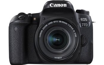 DC Canon EOS 77D & EF-S 18-55 IS STM