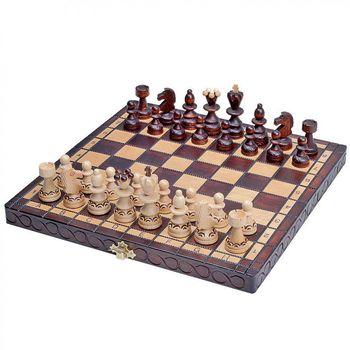 Шахматы деревянные 30x30 см Pearl Small CH134AK (5233)