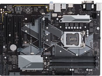 ASUS PRIME H370-PLUS, Socket 1151, Intel® H370 (8th Gen CPU), Dual 4xDDR4-2666, 2xPCIe X16, CPU Intel graphics, VGA, HDMI, DVI, 6xSATA3, RAID, 2xM.2 slot, ALC887 HDA, GbE LAN, 2xUSB3.1 Gen 2, 6xUSB3.1, ATX