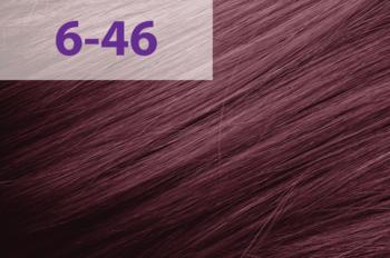 Vopsea p/u păr, ACME jNowa Siena CS, 90 мл., 6/46 - Maro deschis roșu violet
