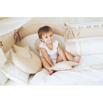 cumpără Set lenjerie pentru pătuc Special Baby Sofia Ivory (6 un.) în Chișinău