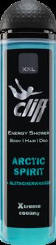 CLIFF - XXL ARCTIC SPIRIT Шампунь-гель для душа Арктическая свежесть 300 мл