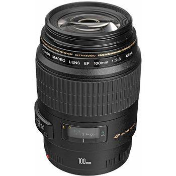 Prime Lens Canon EF 100 mm f/2.8 USM, Macro Lens