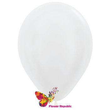 купить Воздушные шары , белый перламутр - 30 см в Кишинёве