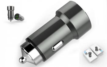 Зарядное устройство в прикуриватель USB EZRA CR04