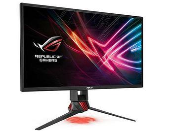 "Монитор 24.5"" ASUS ROG Strix XG258Q Gaming Monitor WIDE 16:9, 0.2832, 1ms, 240Hz, G-SYNC, Adaptive-Sync, Asus Aura RGB, Contrast 1000:1, H:255-255kHz, V:48-240Hz, 1920x1080 Full HD, HDMI (v2.0)/Display Port 1.2/HDMI (v1.4), (monitor/монитор)"