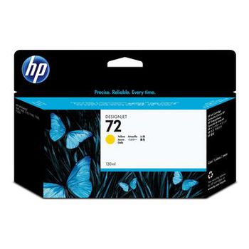 HP No.72 Yellow Ink Cartridge with Vivera ink 130ml (C9373A)