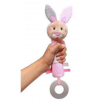 купить Пищалка плюшевая Babyono Bunny Julia в Кишинёве