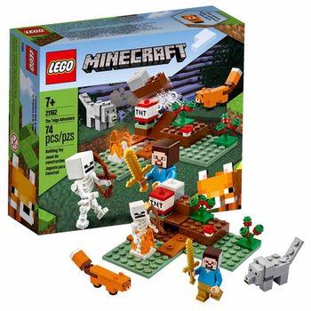 LEGO Minecraft Приключения в тайге, арт. 21162