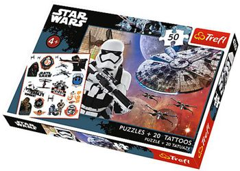 "90557 Trefl Puzzles - ""50 Tattoo"" - Ready to fight / Lucasfilm Star Wars Episode VII"