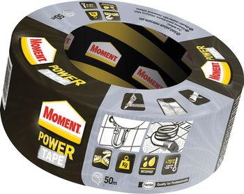 Moment Power Tape, серый, 50мм x 50м