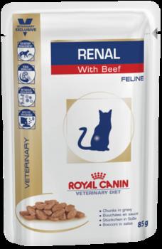 купить Royal Canin RENAL С ГОВЯДИНОЙ 85 gr в Кишинёве
