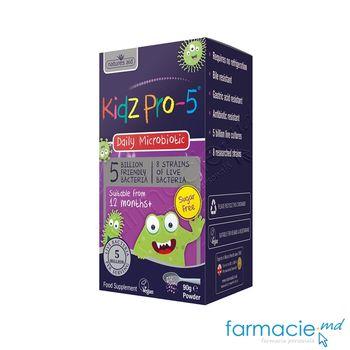 cumpără Kidz Pro-5 Daily Microbiotic 12luni+ pulbere 90g Natures Aid în Chișinău