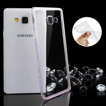купить Fashion case diamonds Samsung S6 EDGE, Silver в Кишинёве
