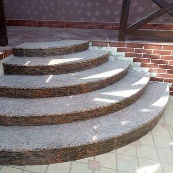 купить Лестница из Гранита Juparana Exotic в Кишинёве