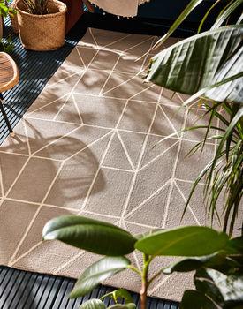 Авторские ковры ручной работы  SCION LIVING OUTDOOR Viso-Steel 424004