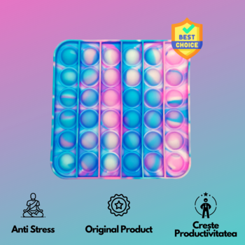 Pop It - Квадратный Цветовой микс TikTok BEST SELLER