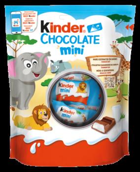 Kinder Chocolate Mini, 120 гр