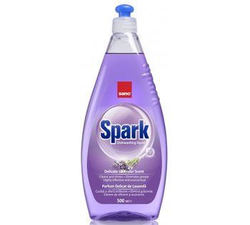 купить Sano Средство для мытья посуды Spark Lavender (500 мл.) 425875 в Кишинёве