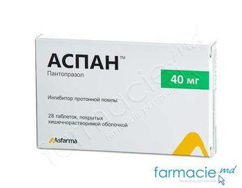 cumpără Aspan comp. gastrorez.40 mg N14x2 în Chișinău