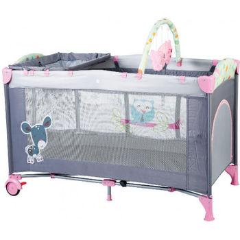 купить BabyGo Кроватка-манеж Sleepwell Blue в Кишинёве