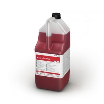 MAXX2 INTO CITRUS (5L) - Cильнокислотное моющее средство для ежедневной уборки в туалетах