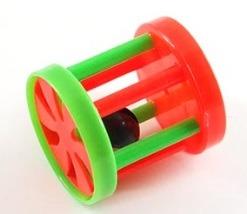 купить Цилиндр с колокольчиком ,красно-зелен, d4,5см, в Кишинёве
