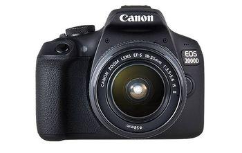 DC Canon EOS 2000D Bk & EF-S 18-55 IS II